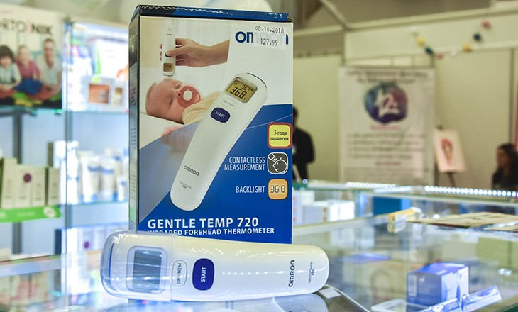 Инфракрасный лобный термометр Omron