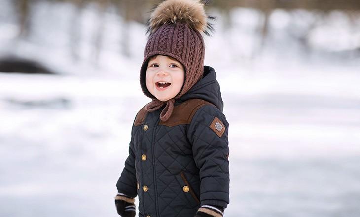 прогулки с ребенком зимой