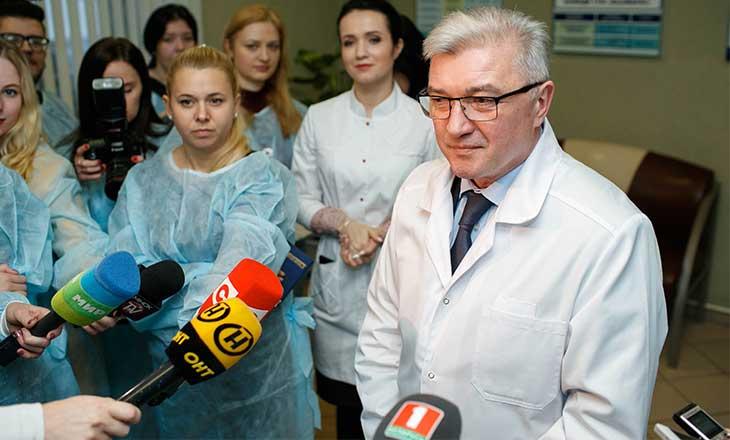 Министр здравоохранения Валерий Малашко