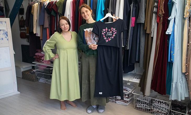 Екатерина Безрукова и Ольга Первова-Тихон